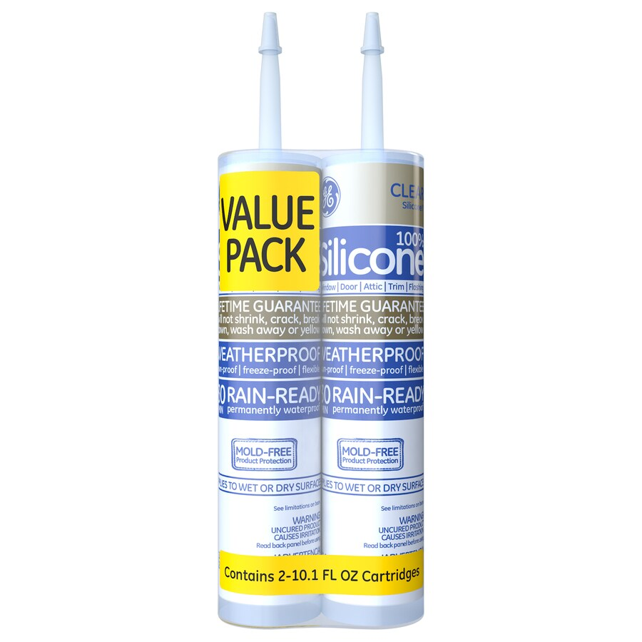 GE 10.1-oz Clear Caulk