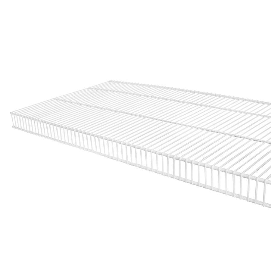 Rubbermaid TightMesh 6-ft L X 16-in D White Wire Shelf At