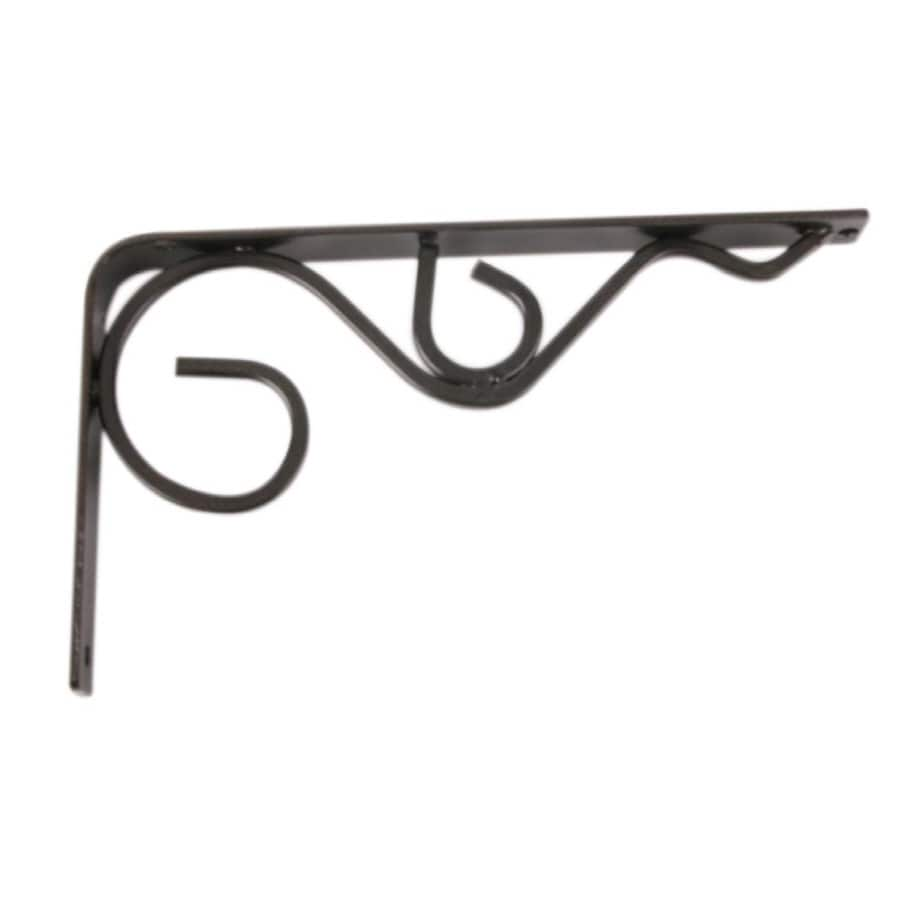 "Sterling 8"" Metal Iron Daisy Shelf Bracket"