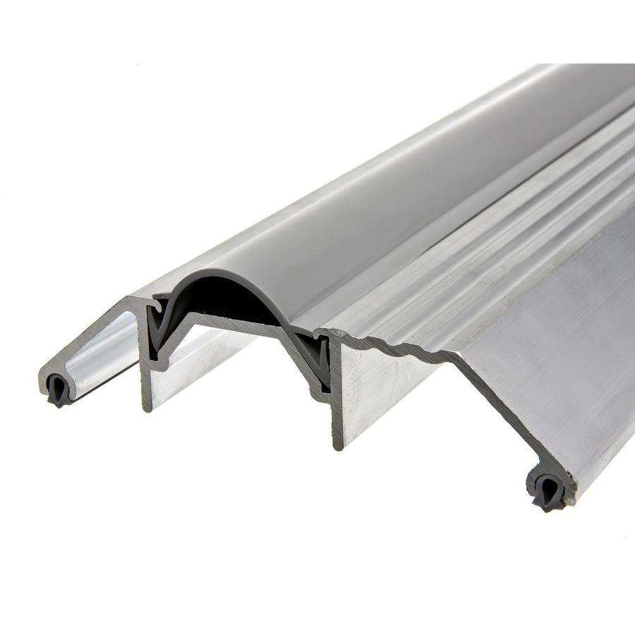 Frost King 3-3/4-in x 1-1/8-in x 36-in Silver Aluminum and Vinyl Door Threshold
