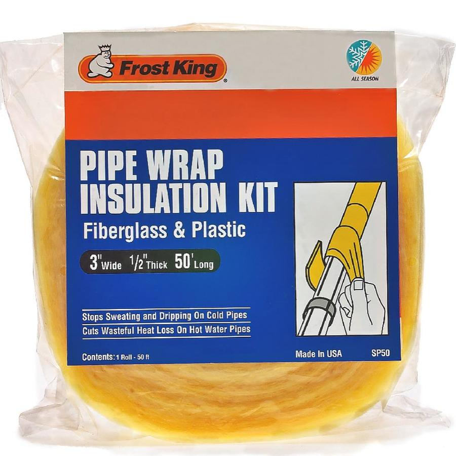 Frost King 1/2-in Fiberglass Plumbing Pipe Wrap Insulation