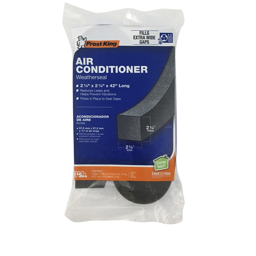 Frost King 3.5-ft Grey PVC Foam Air Conditioner Weatherstrip