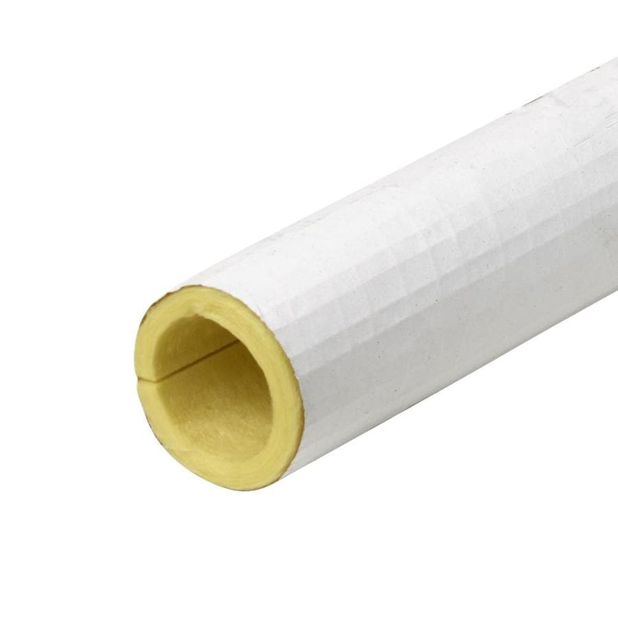 Frost King 1-1/4-in x 3-ft Fiberglass Plumbing Tubular Pipe Insulation