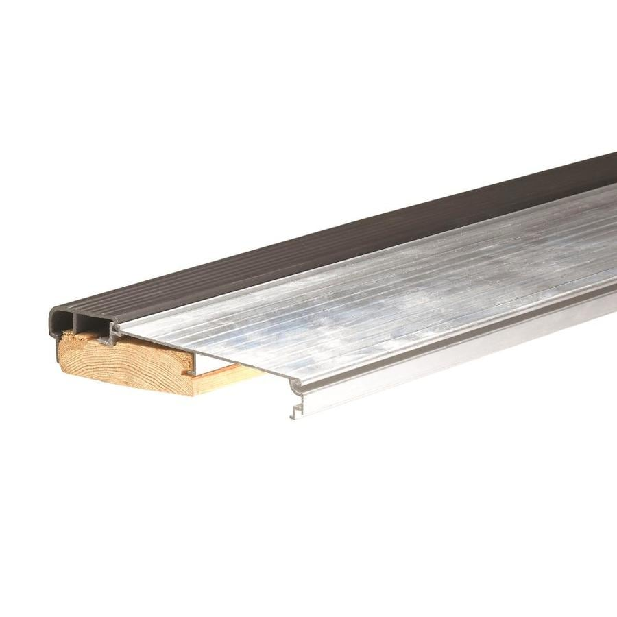 Frost King 5.625-in x 36-in Silver Aluminum/Wood Door Threshold