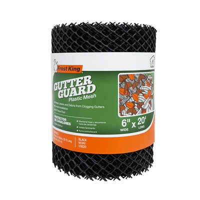 Frost King Plastic Gutter Guard at Lowes com