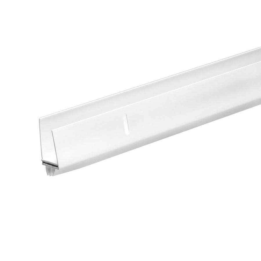 Frost King 1-in to 1-1/2-in x 36-in White Metal/Vinyl Door Threshold