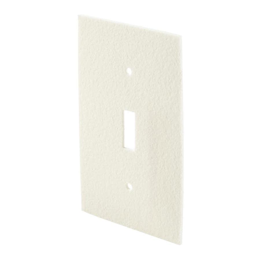 Frost King 0.33-ft White PVC Foam Switch Plate Weatherstrip