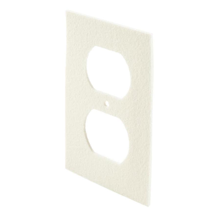 Frost King 6-Pack 2.5-in x 0.33-ft White Plastic Foam Specialty Weatherstrip