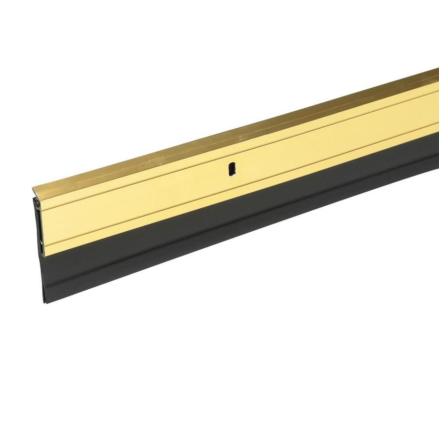 Frost King 3-ft Gold Aluminum/Vinyl Door Weatherstrip