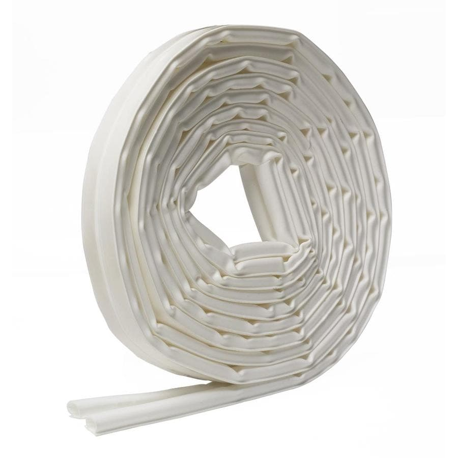 Frost King 0.375-in x 20-ft White Rubber Door Weatherstrip