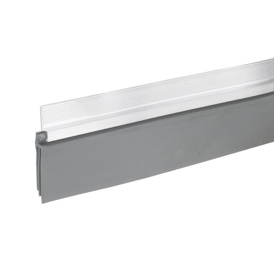 Frost King 2-in x 3-ft Silver Aluminum/Vinyl Door Weatherstrip