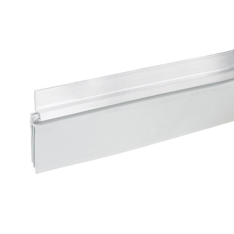 Frost King 2-in x 3-ft White Aluminum/Vinyl Door Weatherstrip