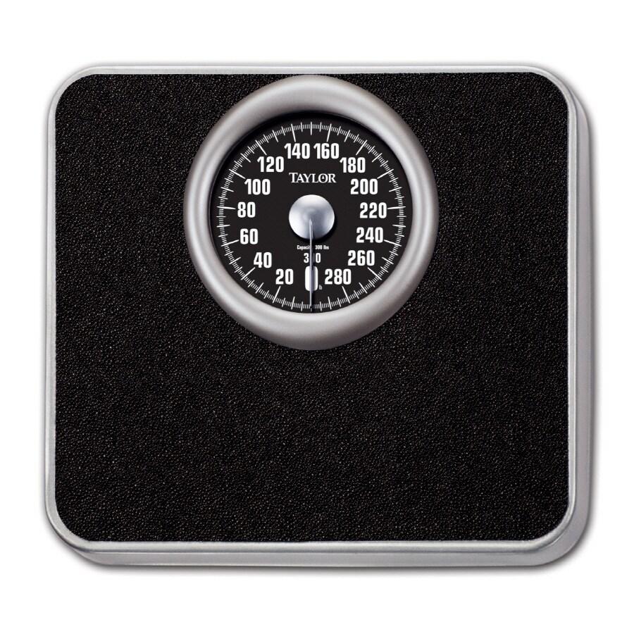 Taylor White Mechanical Bathroom Scale