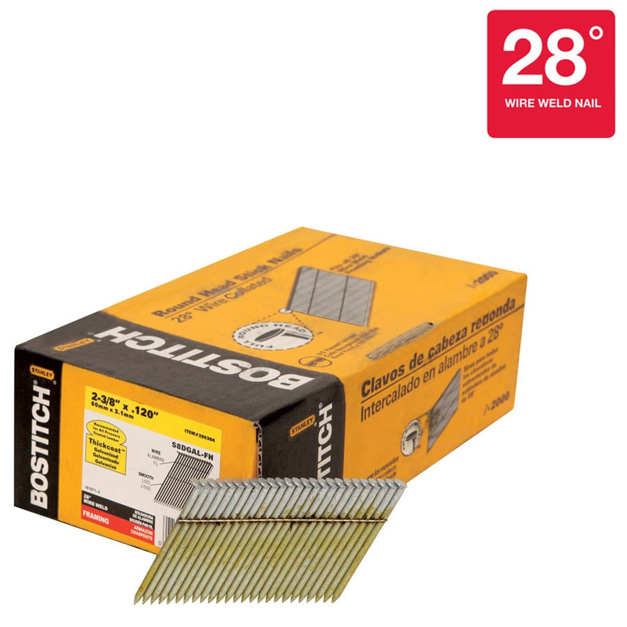 STANLEY-BOSTITCH 12000-Count 2-in Siding Pneumatic Nails