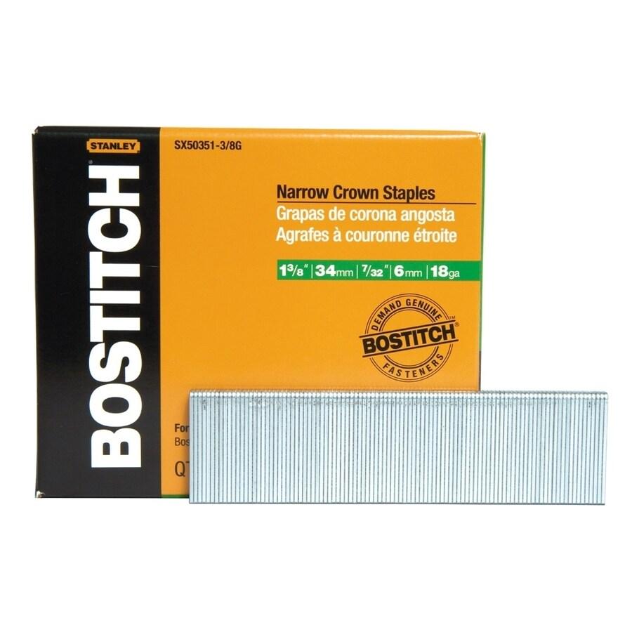 Bostitch Finishing Pneumatic Staples
