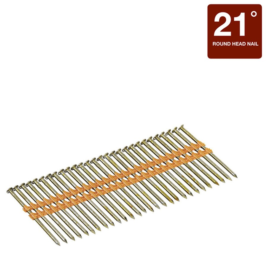 Bostitch 2 In 21 Degree Pneumatic Framing Nails (6000 Count)