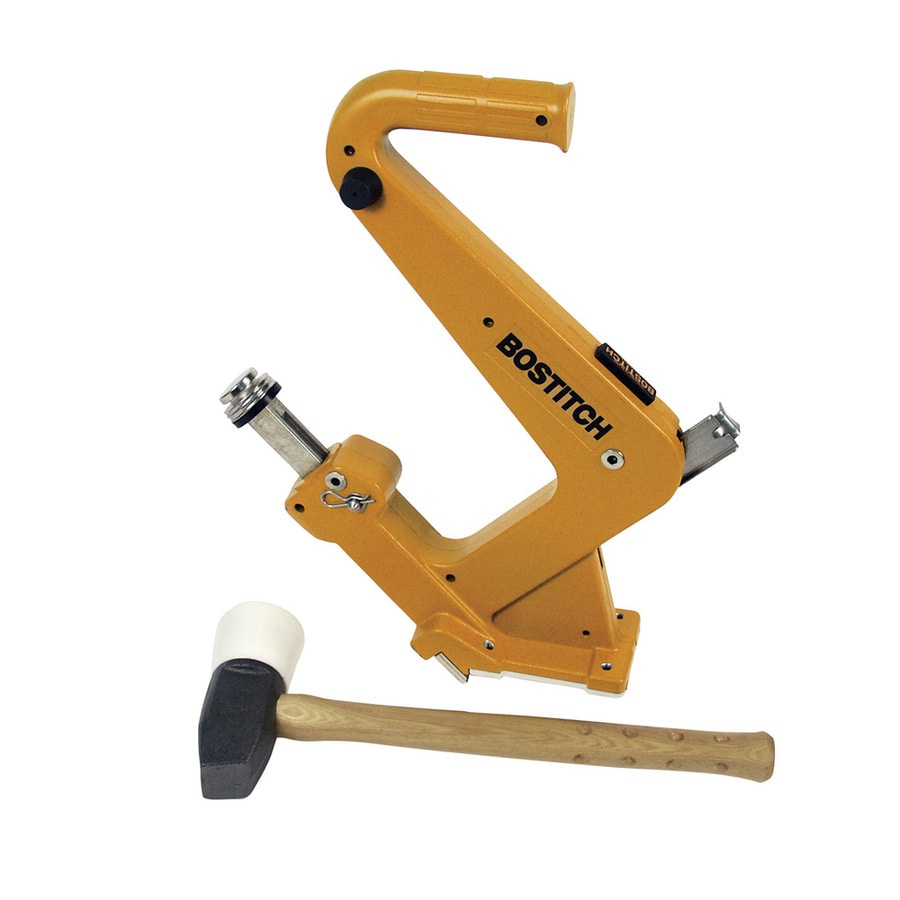 STANLEY BOSTITCH Manual Flooring Cleat Nailer Kit