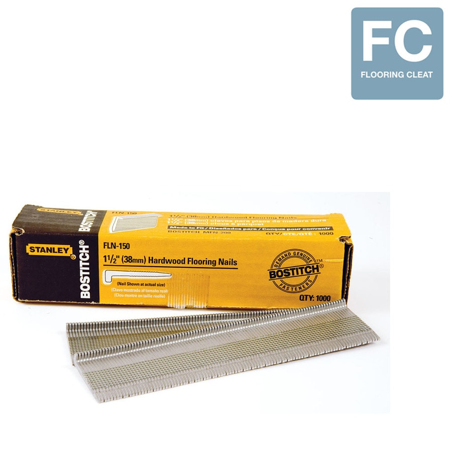 STANLEY-BOSTITCH 1,000-Count 1.5-in Flooring Pneumatic Nails