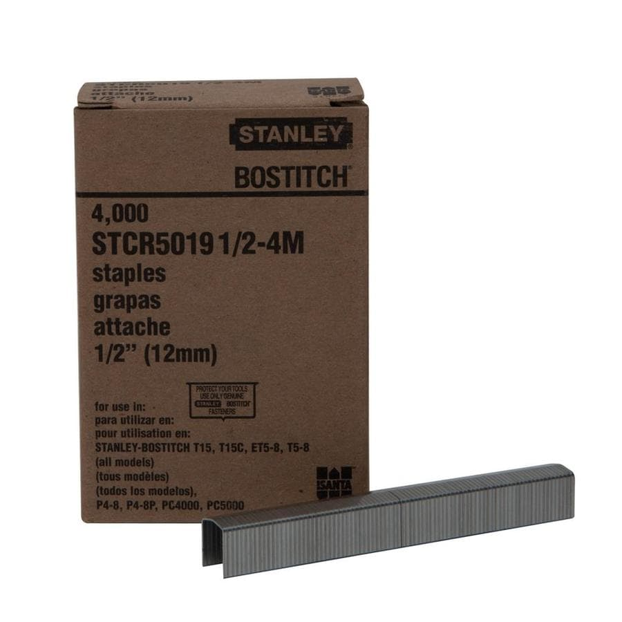 STANLEY-BOSTITCH 1/2-in Tacking Pneumatic Staples