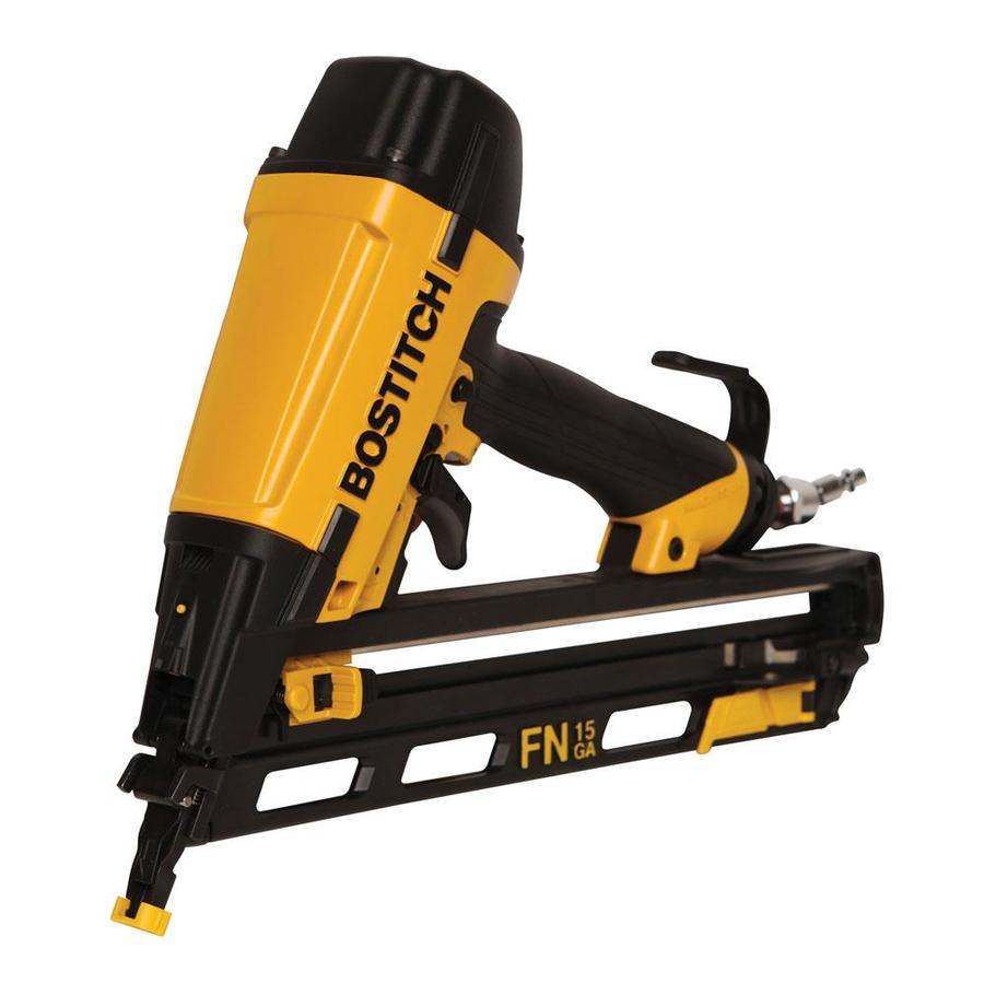 Bostitch 15-Gauge Finishing Pneumatic Nailer