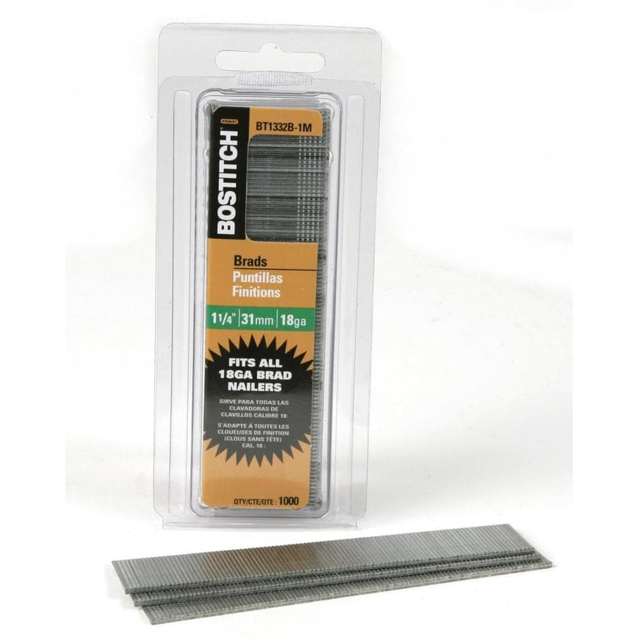 Bostitch 1000-Count Count 1.25-in Finishing Pneumatic Nails