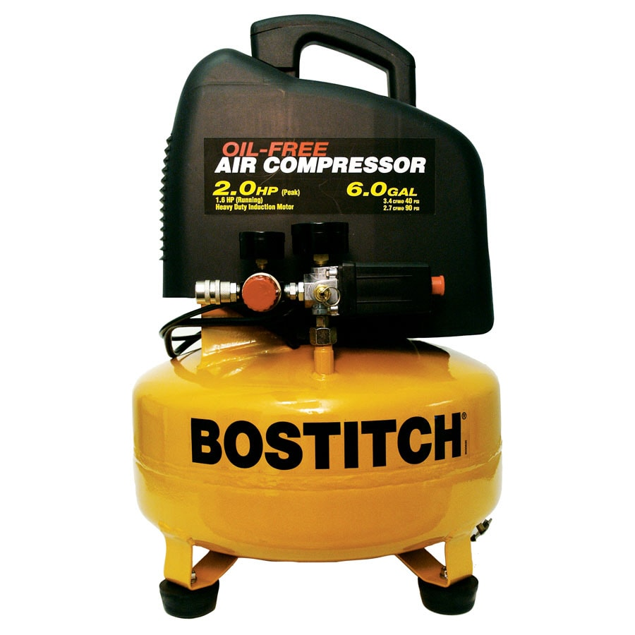 STANLEY-BOSTITCH 6-Gallon 135-PSI Electric Air Compressor