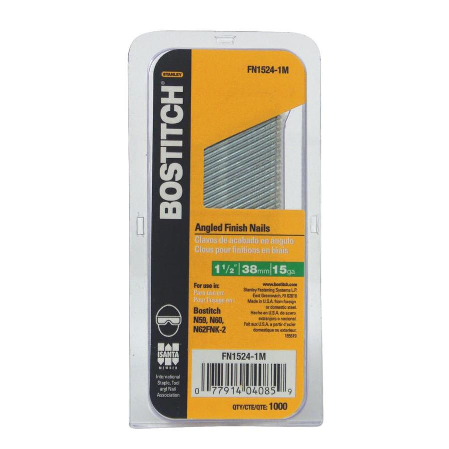 Bostitch 1000-Count 1.5-in Finishing Pneumatic Nails