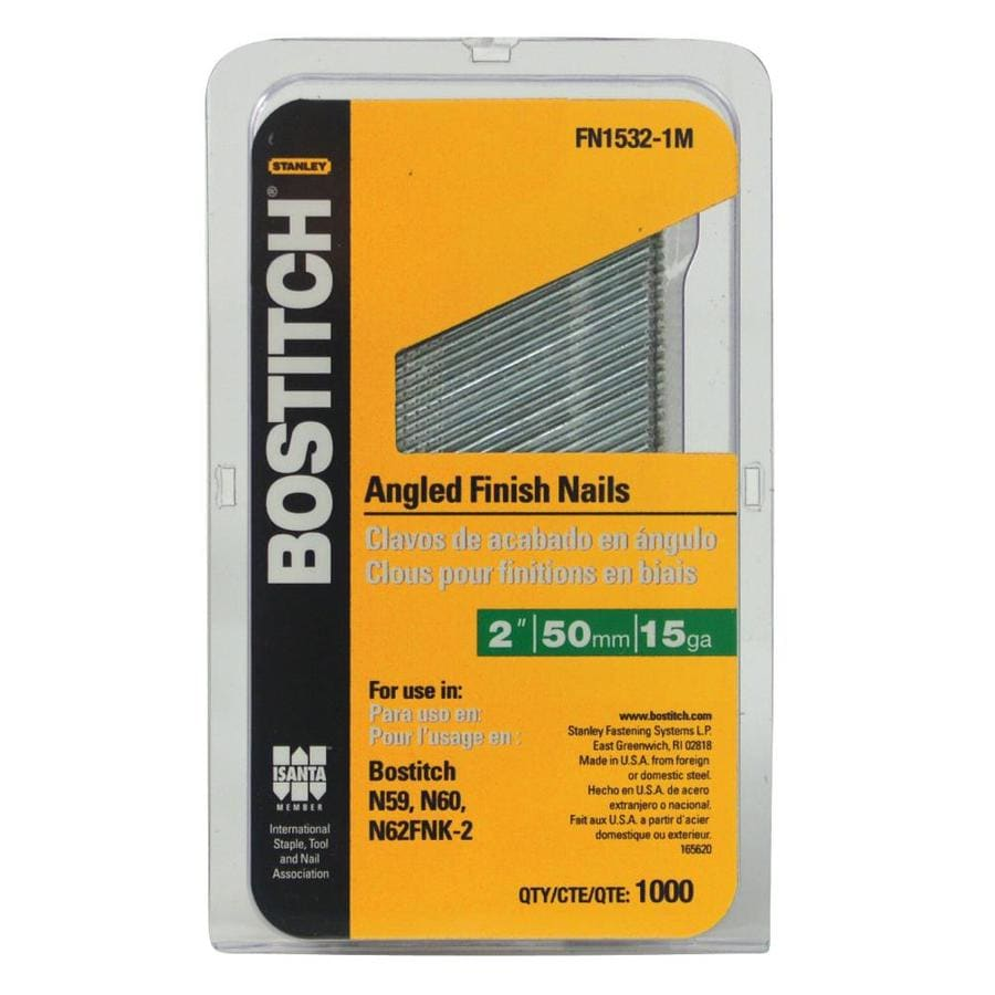 Bostitch 1000-Count 2-in Finishing Pneumatic Nails