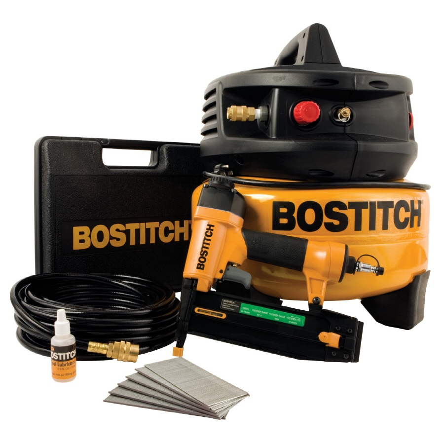 Bostitch 6-Gallon Portable 120-PSI Electric Pancake Air Compressor