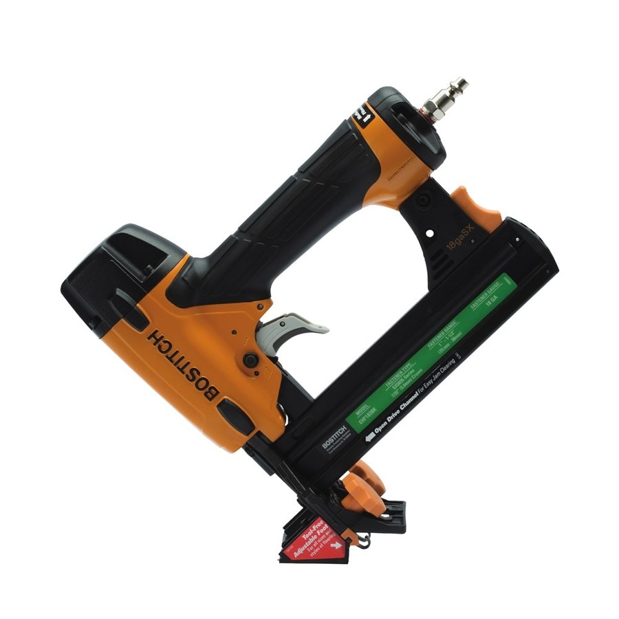 Shop Bostitch 1.5-in 18-Gauge Pneumatic Stapler At Lowes.com