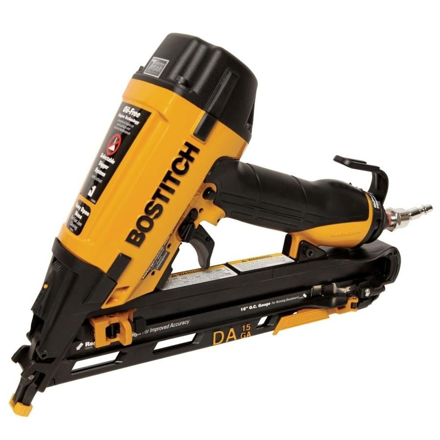 Bostitch 15-Gauge Roundhead Finishing Pneumatic Nailer
