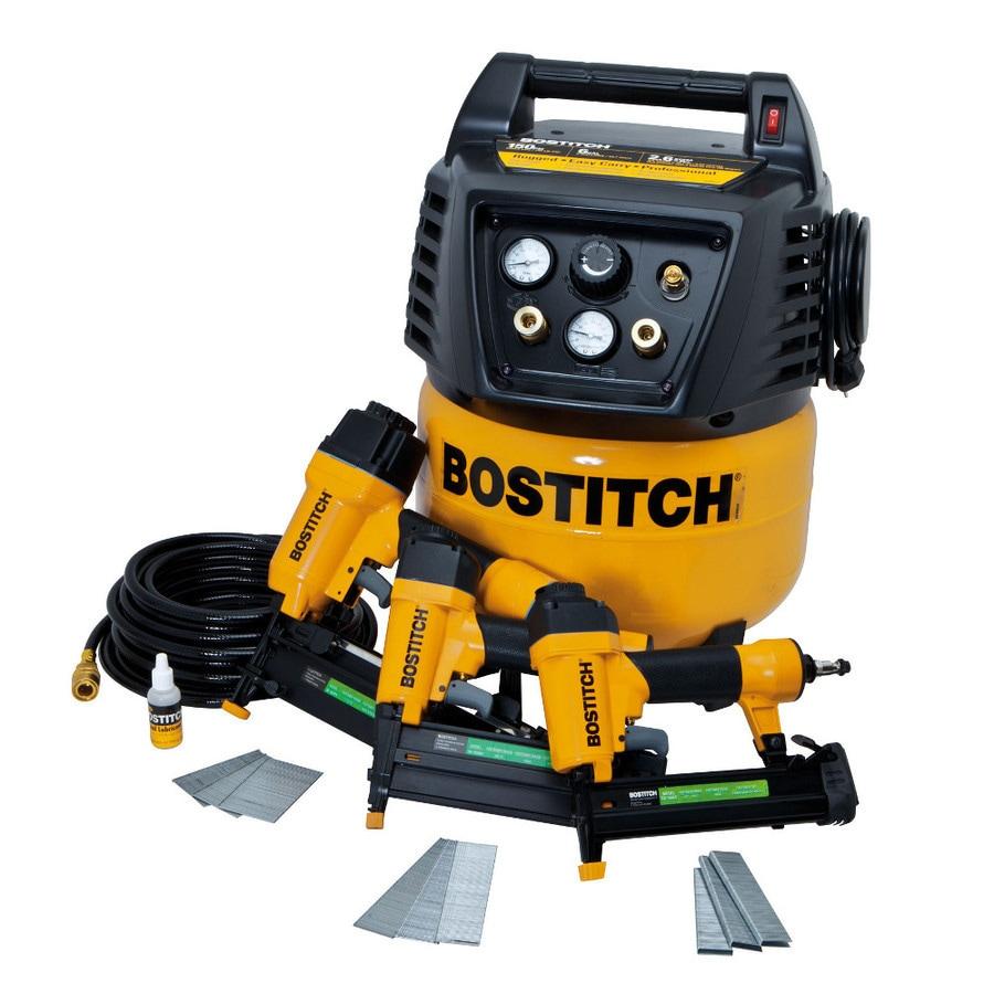 Bostitch 6-Gallon Portable 150-PSI Electric Pancake Air Compressor