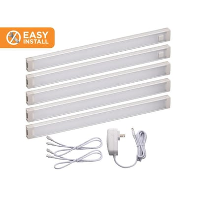 5 Pack 9 In Plug Under Cabinet Led Light Bar