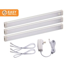 BLACK+DECKER 3-Pack 9-in Plug-In Under Cabinet LED Light Bar