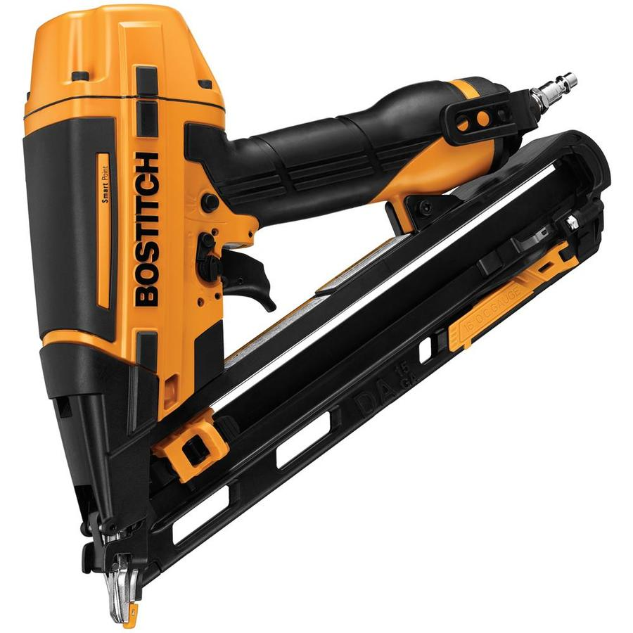 Bostitch Smart Point 15-Gauge Roundhead Finishing Pneumatic Nailer