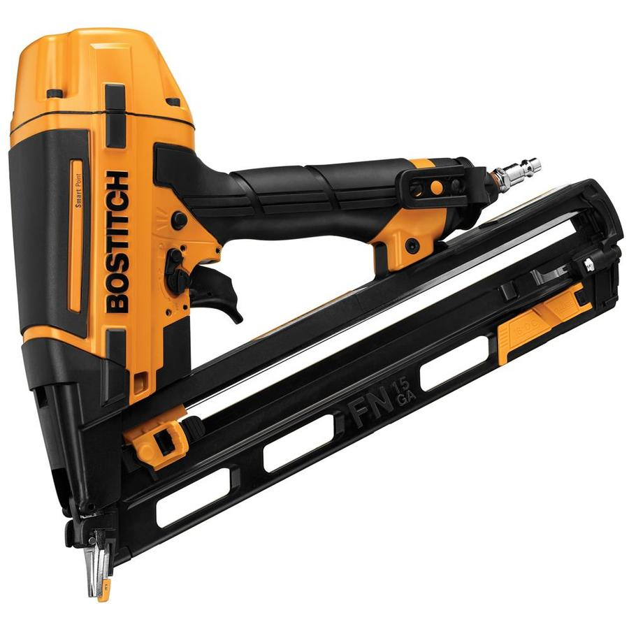 Bostitch Smart Point 15-Gauge Clip Head Finishing Pneumatic Nailer