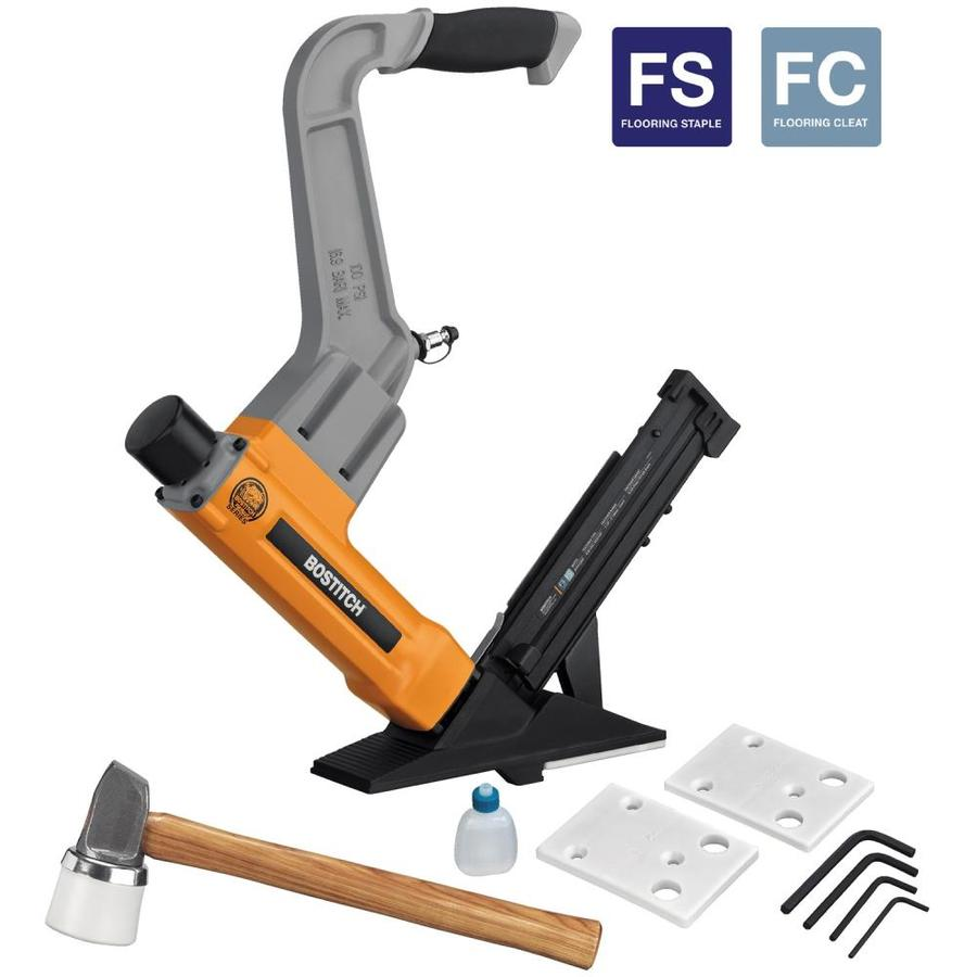 Flooring nailers pneumatic gurus floor for Wood floor nails or staples
