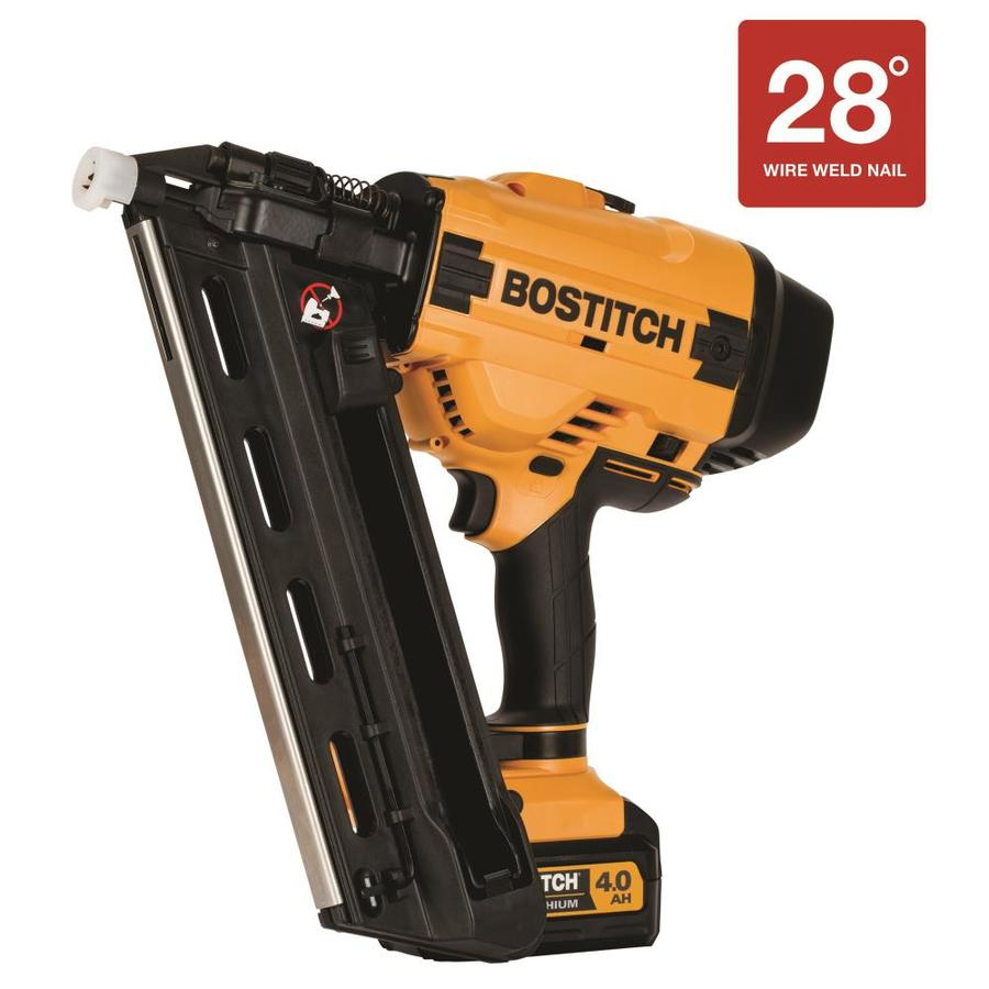 Bostitch 3 5 In 28 Degree Cordless Framing Nailer At Lowes Com