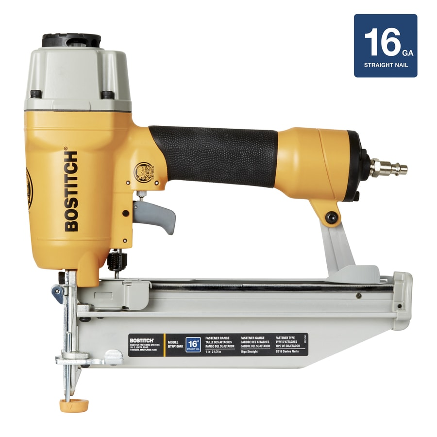Bostitch 16-Gauge Headless Finishing Pneumatic Nailer