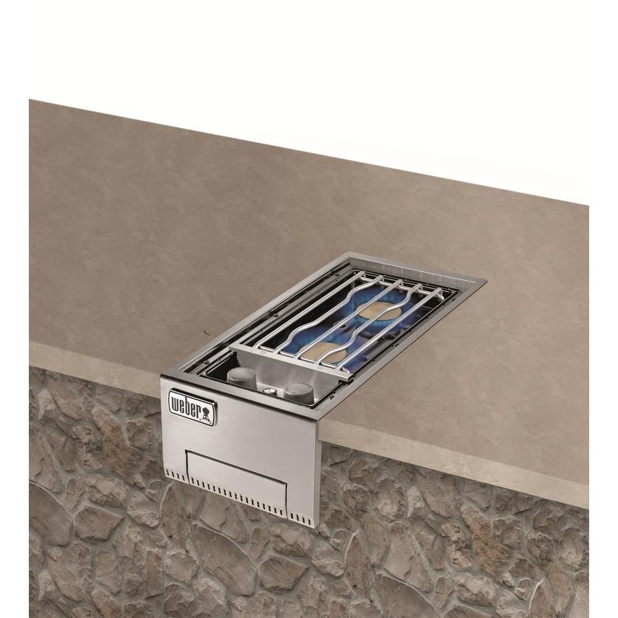 Weber Summit Built In Grill Cabinet Propane Side Burner