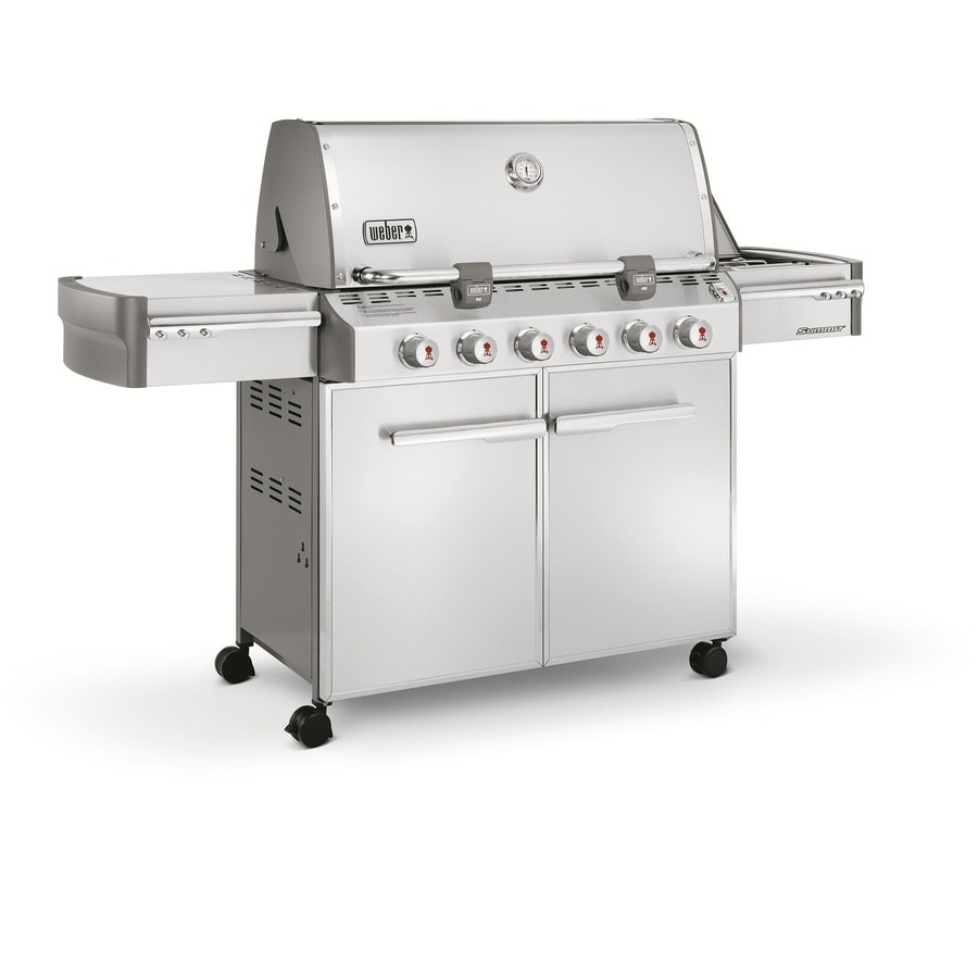Weber Summit S-620 6-Burner Liquid Propane Gas Grill