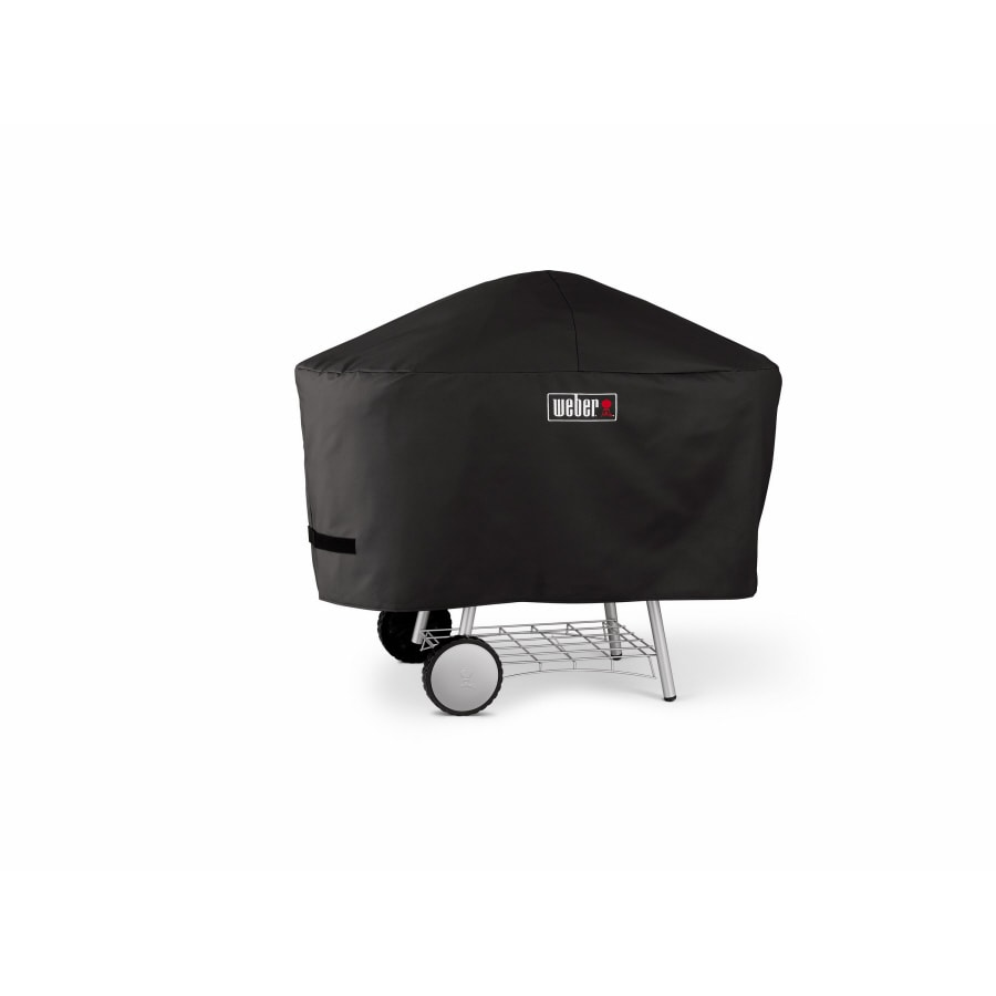 Weber 52-in x 36-in Vinyl Charcoal Grill Cover