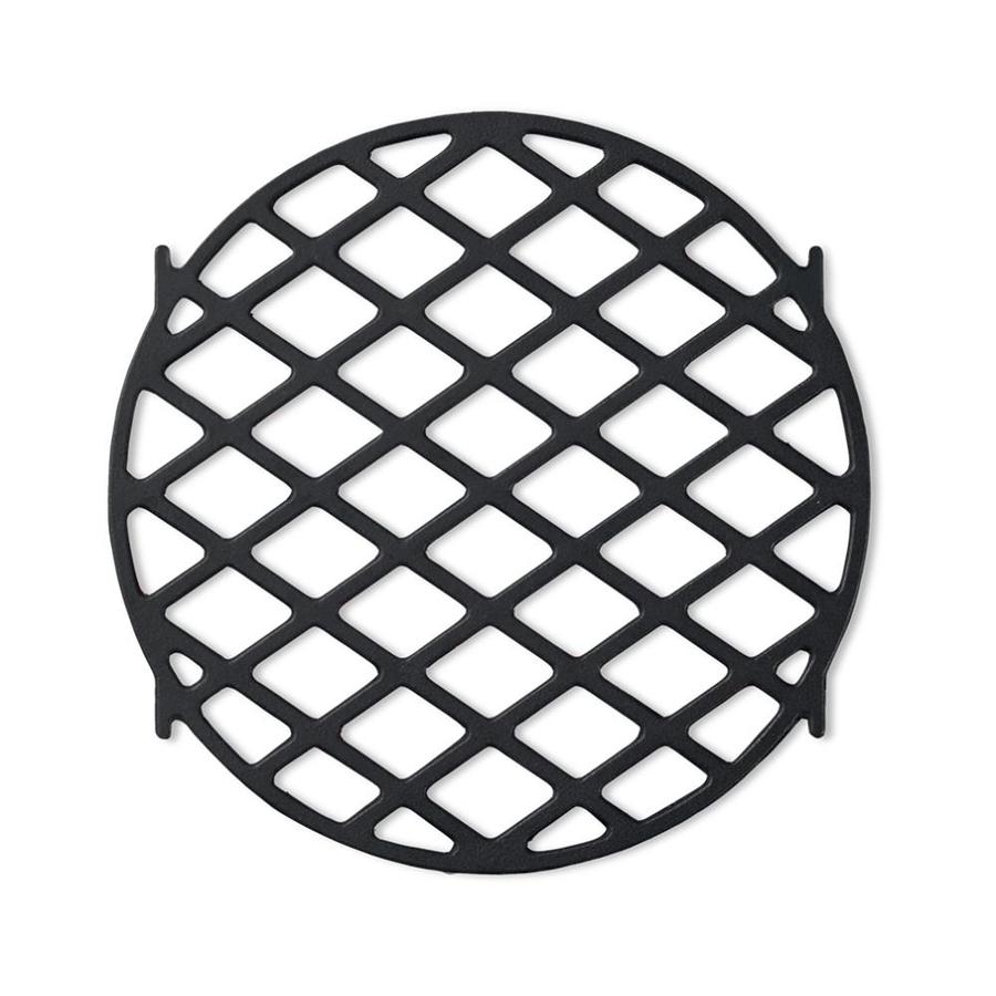 Shop Weber Round Porcelain coated Cast Iron Cooking Grate