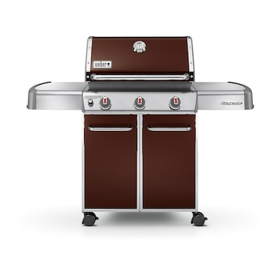 Weber Genesis E 310 Espresso 3 Burner Liquid Propane Gas Grill At