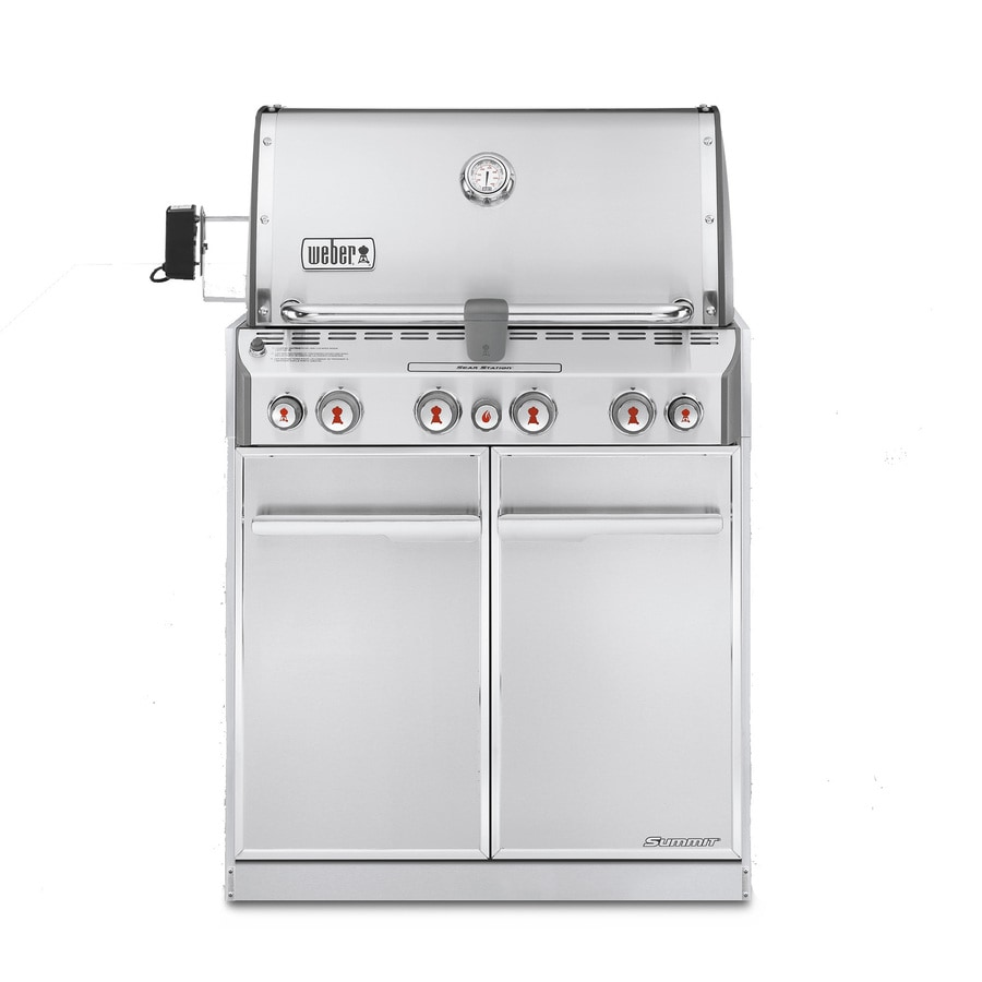 Weber Summit 4-Burner Built-In Liquid Propane Gas Grill