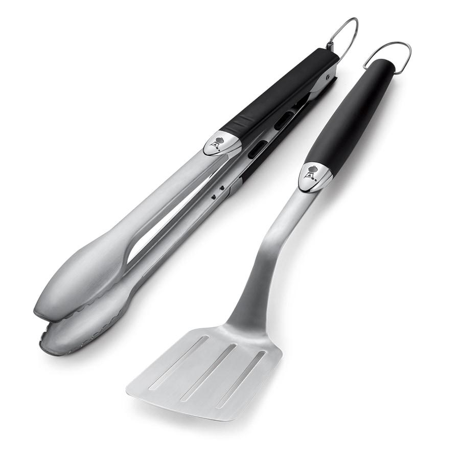 Weber 2-Pack Stainless Steel Tool Set
