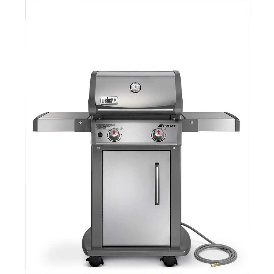 Shop weber spirit s 210 stainless steel 2 burner natural gas grill at Weber exterior grill cleaner
