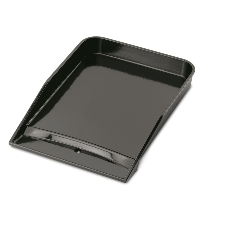 Weber Style Non-Stick Porcelain-Enameled Cast-Iron Griddle