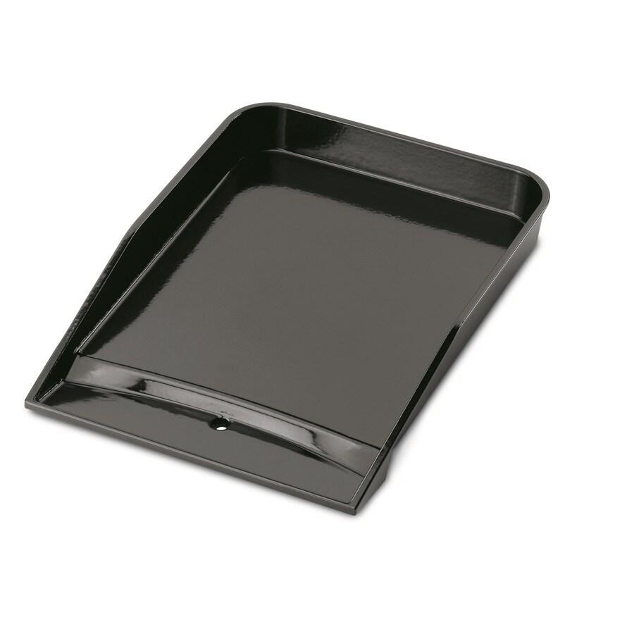 Weber Style Non-Stick Porcelain-Enameled Cast-Iron Griddle