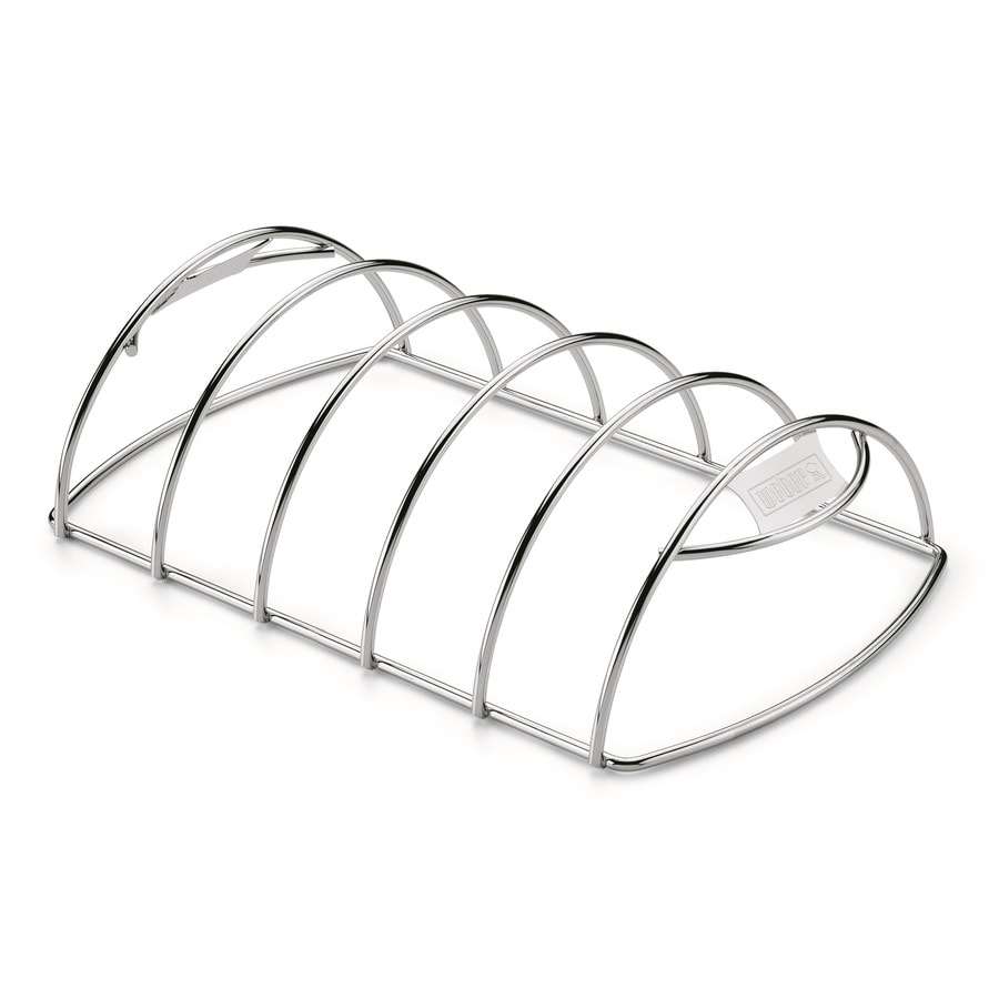 Weber Porcelain-Coated Metal Roaster/Rib Rack